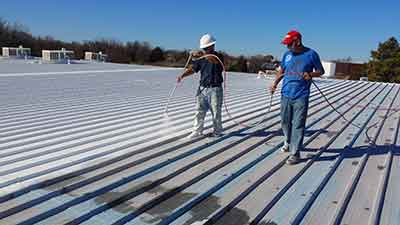 Metal Roof Restoration Mesquite TX