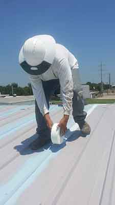 Metal Roof Restoration Burleson, TX