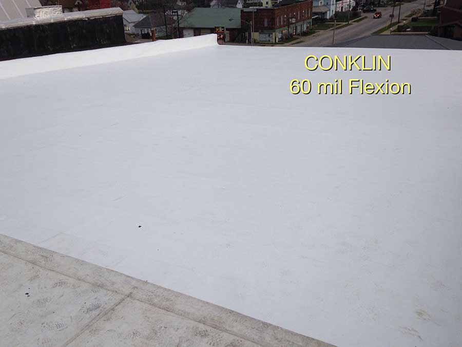 Conklin Flexion PVC by CLM Roofing